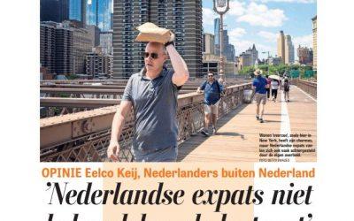 Telegraaf: 'Nederlandse expats niet behandelen als lastpost'