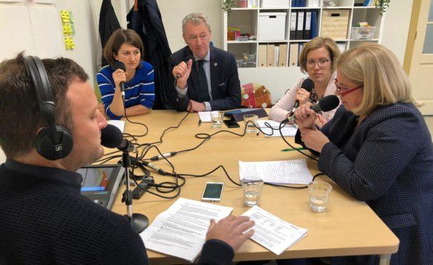 kandidaat europarlementariers in radiodebat over Nederlanders buiten Nederland