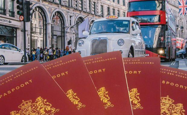brexit-noodwet paspoorten verenigd koninkrijk
